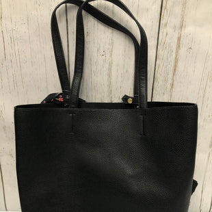 Primary Photo - BRAND: STEVE MADDEN STYLE: TOTE COLOR: BLACK SIZE: LARGE SKU: 144-14483-87933
