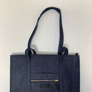 Primary Photo - BRAND: VERA BRADLEY STYLE: TOTE COLOR: NAVY SIZE: MEDIUM OTHER INFO: GLOXINIA PERFORMANCE TWILL SKU: 144-14483-88481