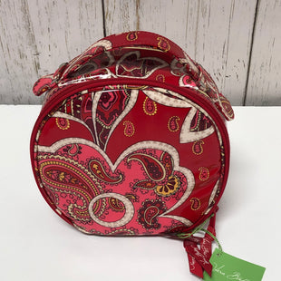 Primary Photo - BRAND: VERA BRADLEY STYLE: MAKEUP BAG COLOR: RED OTHER INFO: NEW! ROSEY POSIES SKU: 144-14411-76688
