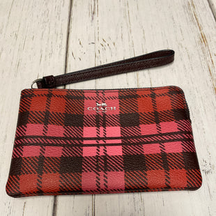 Primary Photo - BRAND: COACH STYLE: WRISTLET COLOR: PLAID SKU: 144-14483-86129