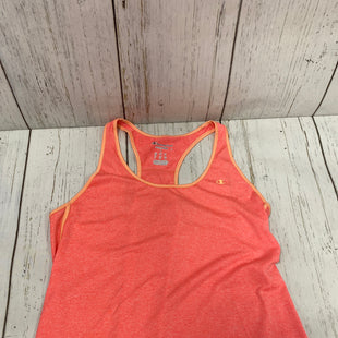 Primary Photo - BRAND: CHAMPION STYLE: ATHLETIC TANK TOP COLOR: ORANGE SIZE: L SKU: 144-14483-82420