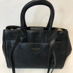 Primary Photo - BRAND: MARC JACOBS STYLE: HANDBAG DESIGNER COLOR: BLACK SIZE: LARGE OTHER INFO: CITY SATCHEL - RETAIL $495 SKU: 144-14483-90112WITH BOTH LONG AND SHORT STRAP