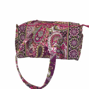 Primary Photo - BRAND: VERA BRADLEY STYLE: TOTE COLOR: PINK PURPLE SIZE: LARGE OTHER INFO: DUFFLE - VERY BERRY PAISLEY SKU: 144-14411-75972