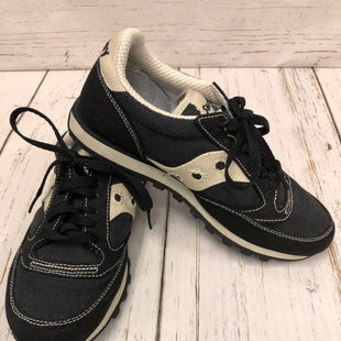 Primary Photo - BRAND: SAUCONY STYLE: SHOES FLATS COLOR: BLACK WHITE SIZE: 7 SKU: 144-144136-1143