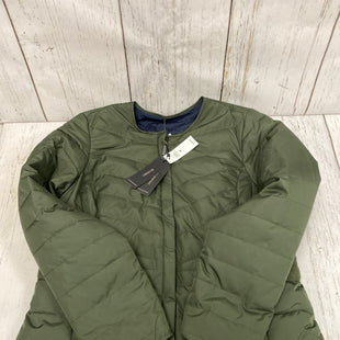 Primary Photo - BRAND: BANANA REPUBLIC O STYLE: JACKET OUTDOOR COLOR: OLIVE SIZE: M OTHER INFO: NEW! SKU: 144-144103-30883REVERSIBLE
