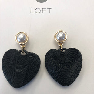 Primary Photo - BRAND: ANN TAYLOR LOFT STYLE: EARRINGS COLOR: BLACK OTHER INFO: NEW! SKU: 144-14483-77608