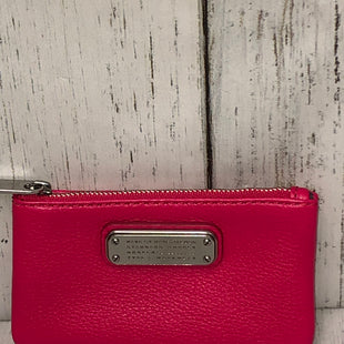 Primary Photo - BRAND: MARC BY MARC JACOBS STYLE: COIN PURSE COLOR: FUSCHIA SIZE: SMALL SKU: 144-144127-2217