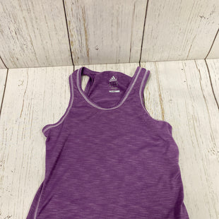 Primary Photo - BRAND: ADIDAS STYLE: ATHLETIC TANK TOP COLOR: PURPLE SIZE: S SKU: 144-14483-83659