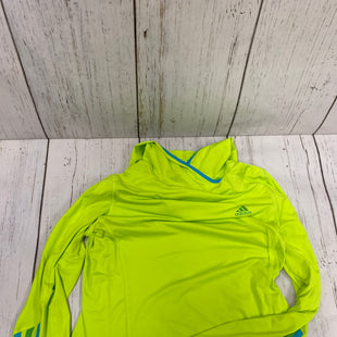 Primary Photo - BRAND: ADIDAS STYLE: ATHLETIC TOP COLOR: LIME GREEN SIZE: M SKU: 144-144137-871