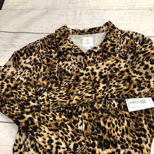 Primary Photo - BRAND: LULAROE STYLE: JACKET OUTDOOR COLOR: ANIMAL PRINT SIZE: 2X SKU: 144-144127-1279