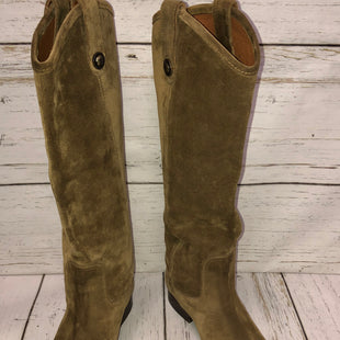 Primary Photo - BRAND: FRYE STYLE: BOOTS KNEE COLOR: OLIVE SIZE: 10 SKU: 144-14483-86641