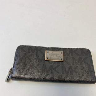 Primary Photo - BRAND: MICHAEL KORS STYLE: WALLET COLOR: GREY SIZE: LARGE SKU: 144-14483-88406
