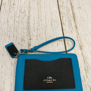 Primary Photo - BRAND: COACH STYLE: WRISTLET COLOR: TEAL SKU: 144-144127-2214SOME SPOTS ON INSIDE