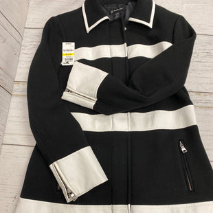 Primary Photo - BRAND: INC STYLE: JACKET OUTDOOR COLOR: BLACK WHITE SIZE: M OTHER INFO: NEW! SKU: 144-144103-30884