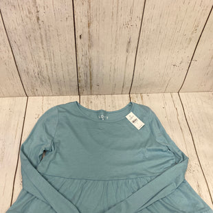 Primary Photo - BRAND: ANN TAYLOR LOFT STYLE: TOP LONG SLEEVE COLOR: BLUE SIZE: S OTHER INFO: NEW! SKU: 144-14411-75140