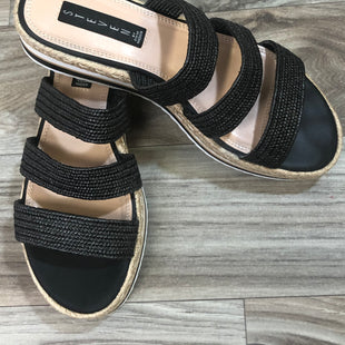 Primary Photo - BRAND: STEVE MADDEN STYLE: SANDALS LOW COLOR: BLACK SIZE: 9.5 SKU: 144-14411-78066