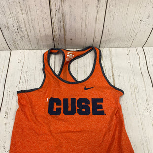 Primary Photo - BRAND: NIKE APPAREL STYLE: ATHLETIC TANK TOP COLOR: ORANGE SIZE: L SKU: 144-144112-9287