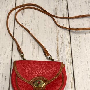 Primary Photo - BRAND: DOONEY AND BOURKE STYLE: HANDBAG COLOR: RED SIZE: SMALL SKU: 144-144136-736
