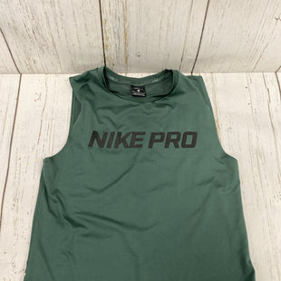 Primary Photo - BRAND: NIKE APPAREL STYLE: ATHLETIC TANK TOP COLOR: GREEN SIZE: M SKU: 144-14483-86431