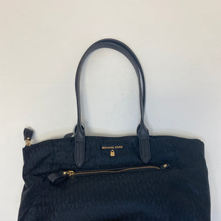 Primary Photo - BRAND: MICHAEL BY MICHAEL KORS STYLE: HANDBAG DESIGNER COLOR: BLACK SIZE: MEDIUM OTHER INFO: NYLON KELSEY TOTE SKU: 144-14411-76555