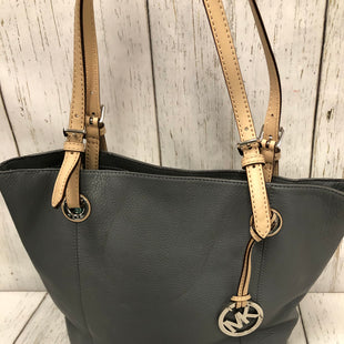 Primary Photo - BRAND: MICHAEL KORS STYLE: TOTE COLOR: GREY SIZE: LARGE OTHER INFO: NWOT SKU: 144-14483-87144