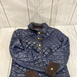 Primary Photo - BRAND: TOMMY HILFIGER STYLE: JACKET OUTDOOR COLOR: NAVY SIZE: S SKU: 221-22111-21346