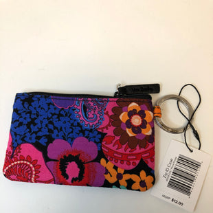Primary Photo - BRAND: VERA BRADLEY STYLE: COIN PURSE COLOR: FLORAL SIZE: SMALL OTHER INFO: NEW!/ZIP ID CASE/FLORAL FIESTA SKU: 144-14483-90192