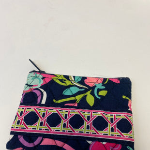 Primary Photo - BRAND: VERA BRADLEY STYLE: COIN PURSE COLOR: BLUE GREEN SIZE: SMALL OTHER INFO: RIBBONS SKU: 144-14411-75987