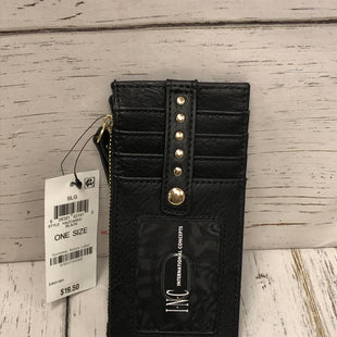 Primary Photo - BRAND: INC STYLE: WALLET COLOR: BLACK SIZE: SMALL OTHER INFO: NEW! SKU: 144-14483-86643