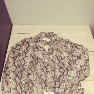 Primary Photo - BRAND: BLANKNYC STYLE: JACKET OUTDOOR COLOR: SNAKESKIN PRINT SIZE: M OTHER INFO: NEW! SKU: 144-14411-74719