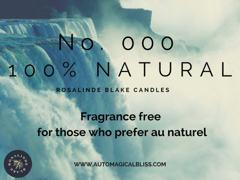 No. 000 Natural (Scent Free)