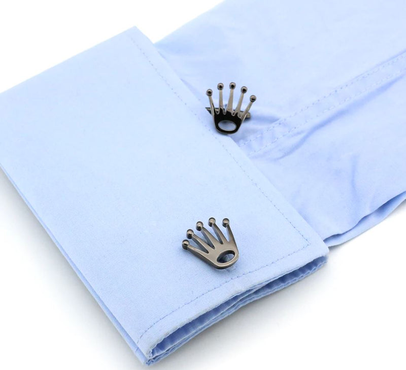King's Crown Cufflinks