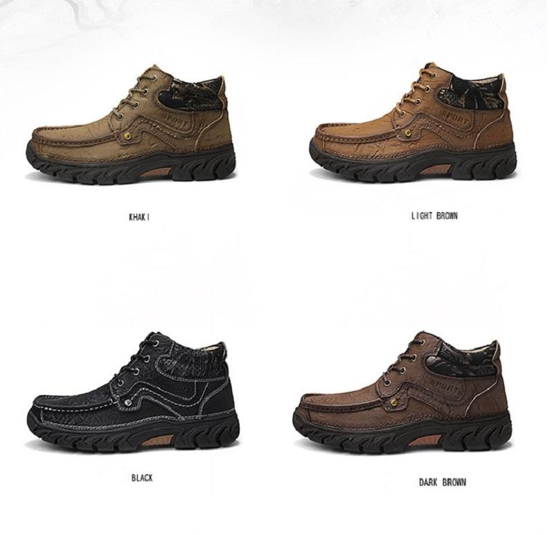 Leather Wear Resistant Non Slip Shoes