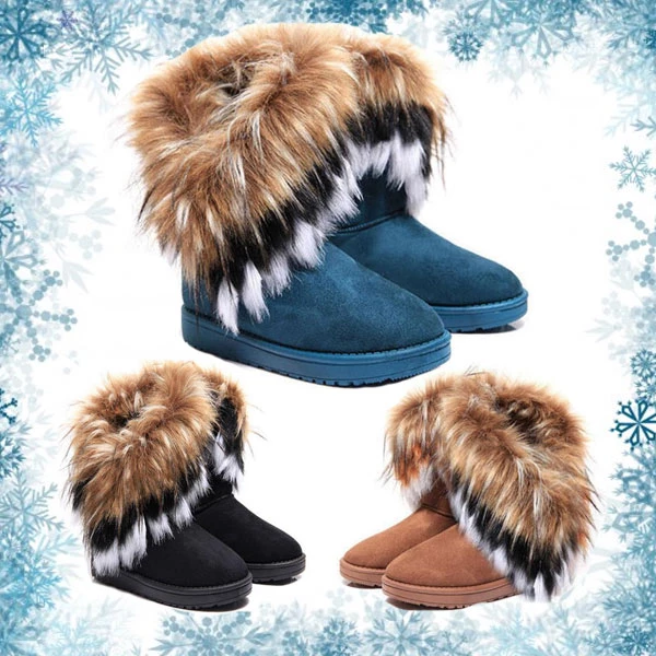 Eskimo - Faux Fur Winter Boots