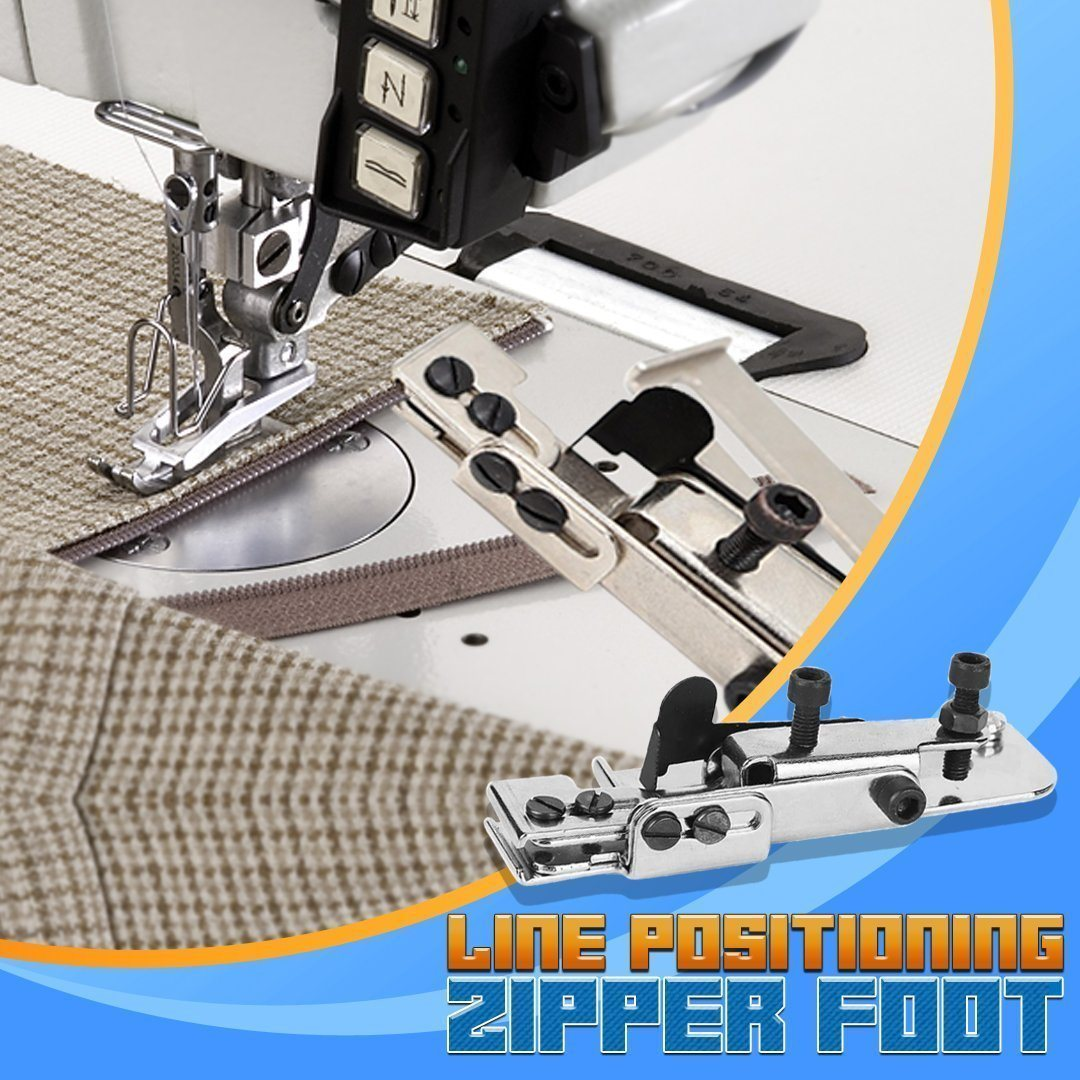 StitchMaster Line Positioning Zipper Foot