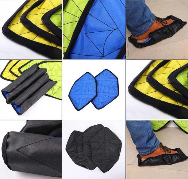 Hands-free Reusable Shoe Covers 3.0 (One pair)
