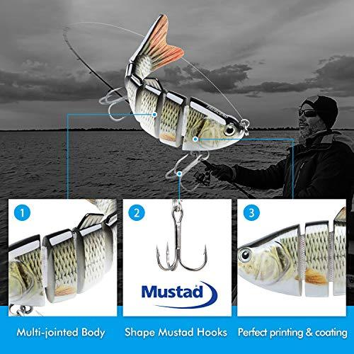 Bionic fish hook bionic Swimming Lure