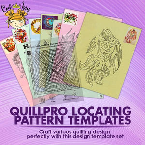 QuillPro Locating Pattern Templates