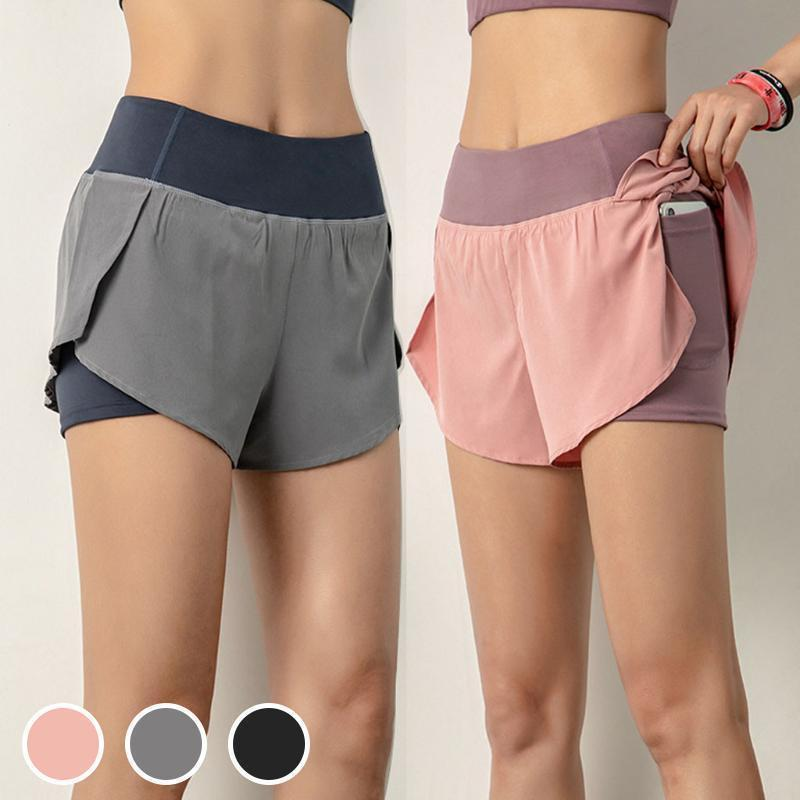 【Buy 2 FREE SHIPPING 】2-in-1 ACTIVE SHORTS