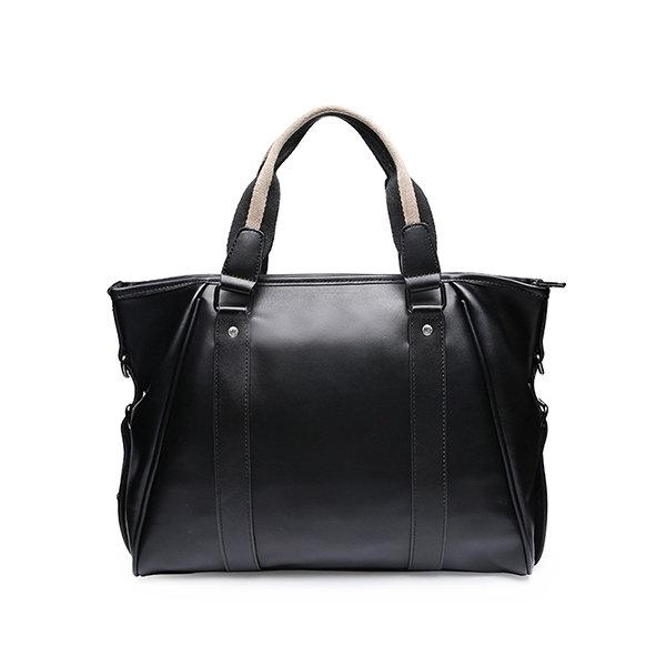 Men Casual Handbag Business Briefcases Solid Large Capacity Bags