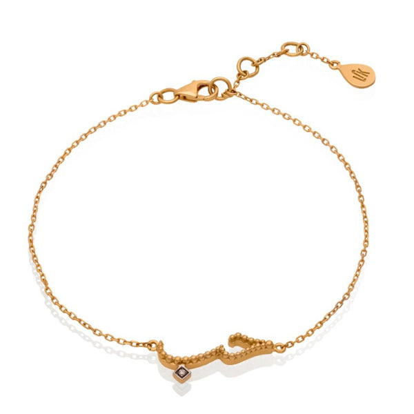 WORDS OF GOLD BRACELET (LOVE)