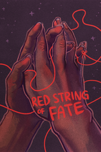 Load image into Gallery viewer, Red string of fate