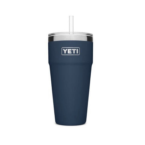 Yeti 26oz Rambler with Straw
