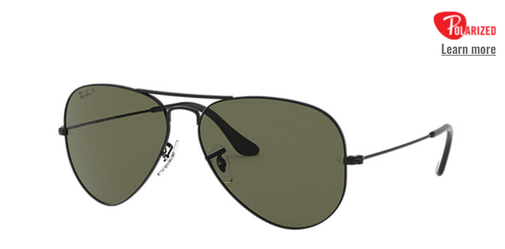 AVIATOR CLASSIC all black Polarized