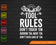 Tool Rules Don't Touch 'Em Borrow SVG PNG Cutting Printable Files