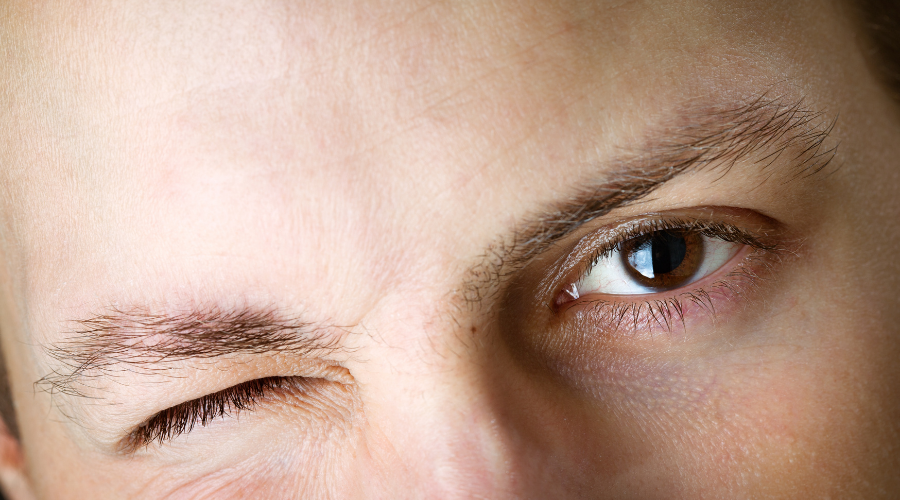 Increase the frequency of blinking is good for your eyes.