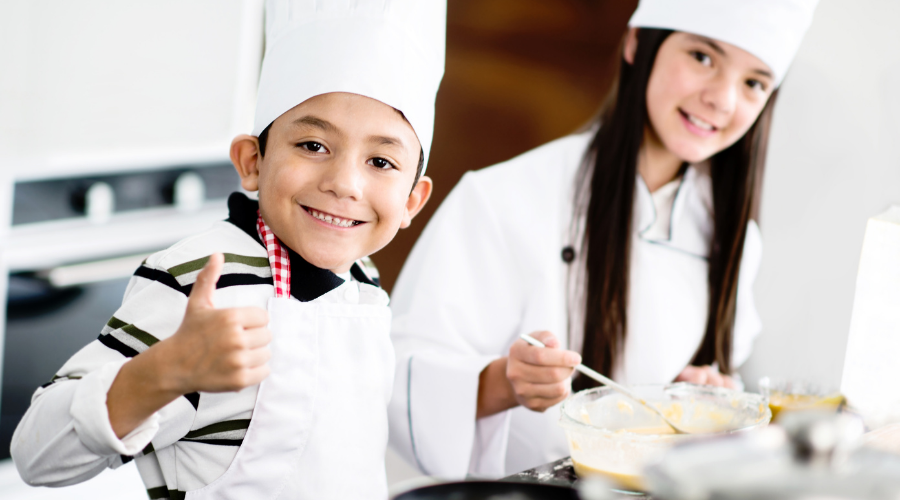 Reward your kids with a fancy dinner date at home