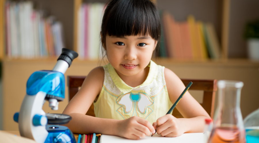 Home based experiment for kids help to teach them the basics of science