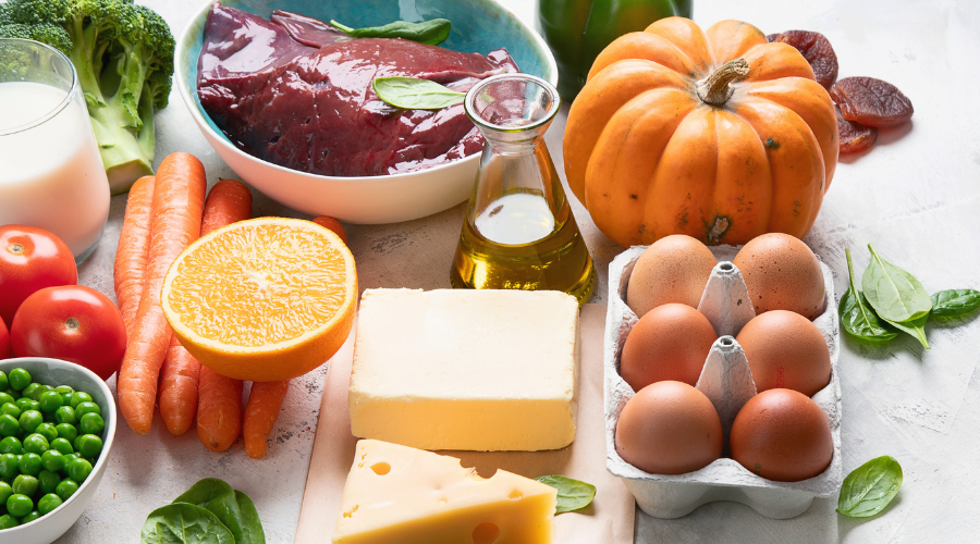 What food contains high vitamins for kids