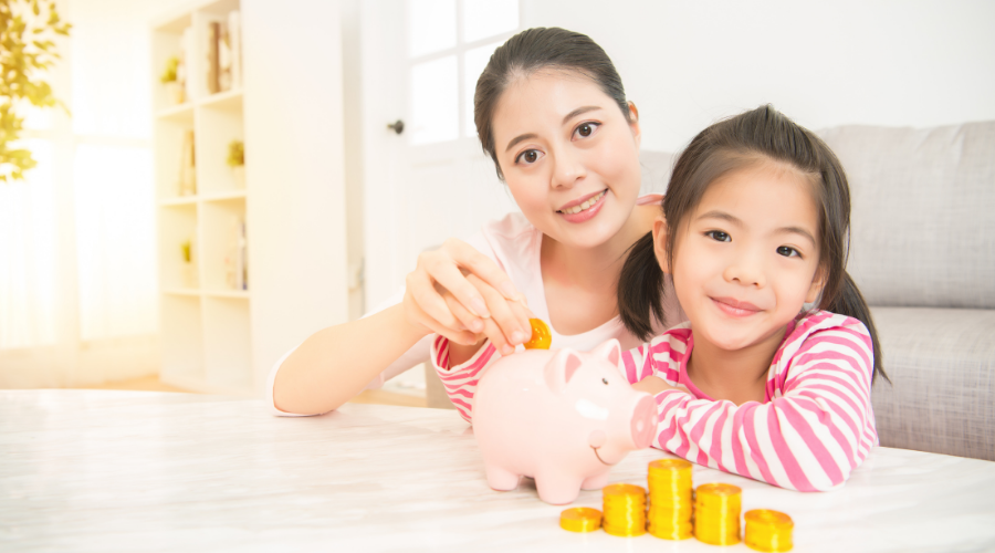 Financial game for children helps them learn money managing skills